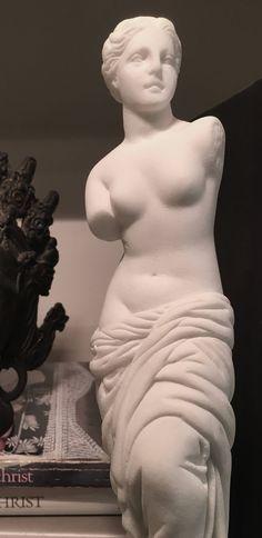 Beautiful Vintage Venus de Milo Aphrodite Greek Goddess Statue Sculpture Carving Solid Stone | Marble | Alabaster Italian Objet d'Art by YatsDomino on Etsy
