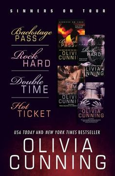 Olivia Cunning Bundle: Backstage Pass, Rock Hard, Double Time, Hot Ticket by Olivia Cunning ☆