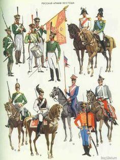 Russian Army of 1812 Napoleon Russia, Empire, Battle Of Borodino, Seven Years' War, Royal Guard, Army Uniform, French Army, French Revolution, Napoleonic Wars