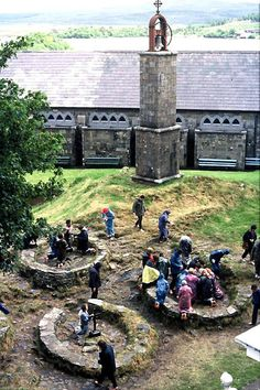 Lough Derg | Barefooted pilgrims pray at Lough Derg,Ireland....Just added to my bucketlist!!