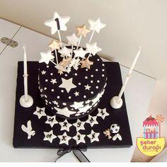 stars cake-yıldızlı pasta
