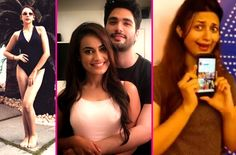 Nitibha Kaul's hot avatar, Divyanka Tripathi's crazy dance, Surbhi Jyoti-Varun Toorkey's romantic reunion – TV Insta this week #FansnStars