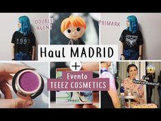 HAUL MADRID + EVENTO TEEEZ COSMETICS con Vanesa Romero / Vintage, double...