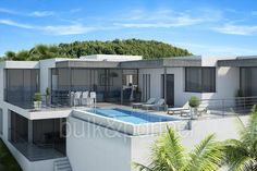 Modern luxury villa with sea views for sale in Altéa - ID 5500576 - Real estate is our passion... www.bulk-partner.com