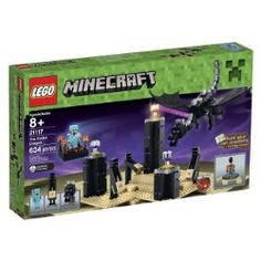 Minecraft 21117 The Ender Dragon A floating platform with torches, a LEGO Ender Dragon that is slick and spooky and Endermen make this a must have for that kid who can't get enough Minecraft. Toys R Us, Kids Toys, Lego Minecraft, Minecraft Ideas, Minecraft Stuff, Minecraft Skins, Minecraft Houses, Legos, Hobby Warehouse