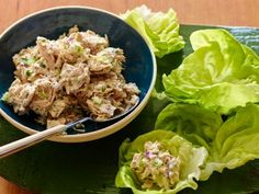 ~ Tuna Salad ~ Easy, versatile recipe. I used fresh dill instead of parsley, part vegan and part wasabi mayo. Also added whole wheat elbow pasta. Great flavor.