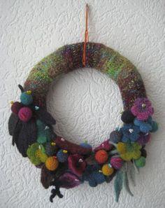 knitted felting
