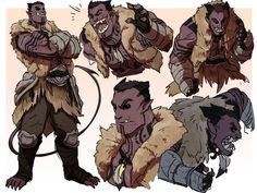 """""""sketchpage commission of a very good d&d character, Zarok, who's a goliath w/ tiefling blood, which is such a rad combo? I had a lot of fun drawing this big boy! Male Character, Fantasy Character Design, Character Portraits, Character Creation, Character Design Inspiration, Character Concept, Concept Art, D D Characters, Fantasy Characters"""