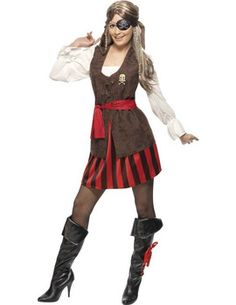 Pirate Ships Lady Mate costume