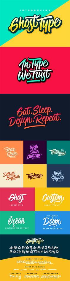 The Font Geek's Go-to Bundle #font #handlettering