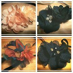 Elastische haarband, 5,- p stuk. Bestellen via suzancreatief@hotmail.nl