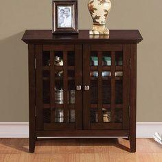 Simpli Home Bedford Storage Cabinet Small 32x14x31h Kohl 225 49
