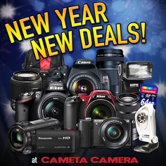Okay okay, so it's technically a couple weeks into 2015, but it's not too late to get the year started right and save on some great camera bundles!  Check out great prices (and Free Shipping of course) on kits featuring the Nikon D3200, Canon T5, Sony A5100, Nikon P600, plus more!