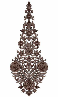 9716 Anarkali Embroidery Design