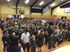 Awesome singing of Islands at Chisnallwood Intermediate house singing competition today with special guests Avondale Primary. Great work! — with Judith Bell and Ravil at Chisnallwood intermediate.