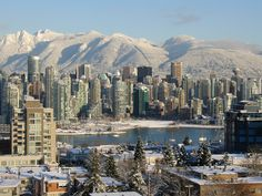 Snowy Vancouver, BC