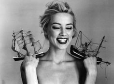 Amber Heard. This has to be one of my favorite photos ever. I love the emotion.