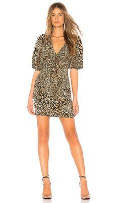 Lawrandra Dress in Leopard Vintage Fashion 2b6be9c6e
