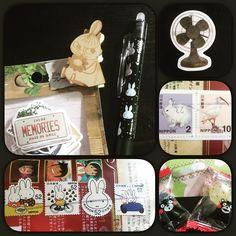 Post aus Japan mit herrlichen Briefmarken - was ich sehr feiere - wunderschön verpackt und: noch Bonbons dazu. Was will man mehr . #dailyzakkapress #etsy #frixion #miffy #moomin #littlymy #sticker #filofaxing #filofax #planner #freumichvoll by pi_rosa