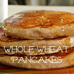 According to L: Whole Wheat Pancakes {bulk mix} .. Now to find a good egg replacer..