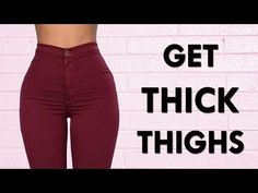 , How To Get Bigger & Thicker Thighs (Workout + Meal Plan) - Femniqe. , How To Get Bigger & Thicker Thighs (Workout + Meal Plan) Bigger Thigh Workout, Thick Thighs Workout, Slim Thick Workout, Big Thighs, Thicker Thighs, Thunder Thigh Workout, Tone Thighs, Workout Meal Plan, Leg Workout At Home