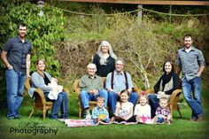 Beautiful large family picture!!