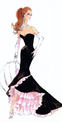 Fashion Illustration by Robert Best