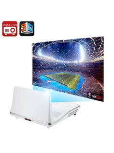 301 Max Short Throw 2000 Lumen Projector Android OS Contrast Ratio Keyst 6941377719819 no eBid Portugal Projector Tv, Short Throw Projector, Home Theater Setup, Home Theater Seating, Home Theater Projectors, Electronics Gadgets, Smart Home, Contrast, Android