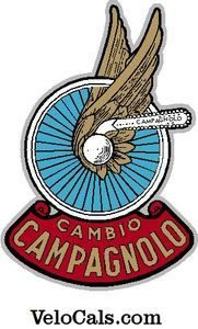 Campagnolo vintage tube decal