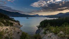 https://flic.kr/p/M1EavD | Last Moment of Light ... | Lac de Serre-Ponçon…
