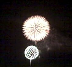 Fireworks 2012 over Mount Rubidoux @RiversideCA