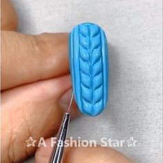 Nail Art ✰A Fashion Star✰ Nail Art nail art stencils Nail Art Designs Videos, Nail Design Video, Nail Art Videos, Cool Nail Designs, Nails Design, Nail Art Hacks, Nail Art Diy, Cool Nail Art, Star Nail Art