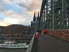 Turismo em Colônia Ponte dos Cadeados - Guia de viagem e dicas de turismo na Alemanha!
