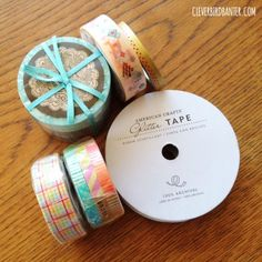 washi tape from Omiyage.ca