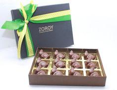 Easter  Box of 12 milk chocolate bunnies