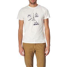 A.P.C. Paris t-shirt (Blanc