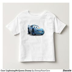 Cars' LightningMcQueen Disney. Producto disponible en tienda Zazzle. Vestuario, moda. Product available in Zazzle store. Fashion wardrobe. Regalos, Gifts. Trendy tshirt. #camiseta #tshirt