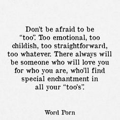Afraid To Love