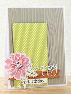 limedoodle, CFC69, Hero Arts, birthday card
