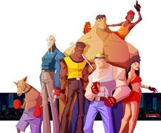Streets of rage Tribute by jlenoury.deviantart.com on @deviantART