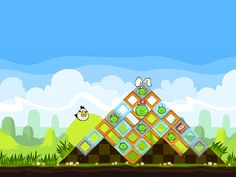 iPhone, iPod and iPad Touch Games / Applications : Angry Birds Seasons HD Free ~ All-in-One