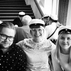Vappulounaalla rakkaimpien kanssa. #vappu #vappulounas #finlandiatalo