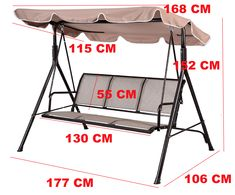 Standard Useful Swing Seat Dimensions - Engineering Discoveries