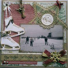 De kaarten van ons Mam: Merry Christmas.. Christmas Cards, Merry Christmas, Christmas Ornaments, Scrapbooking, Clock, Holiday Decor, Winter, Ideas, Cartonnage