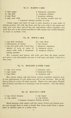 Eggless recipe book for cakes, cookies, muffins, and desserts Retro Recipes, Old Recipes, Vintage Recipes, Cookbook Recipes, Baking Recipes, Cake Recipes, Dessert Recipes, Eggless Desserts, Eggless Recipes