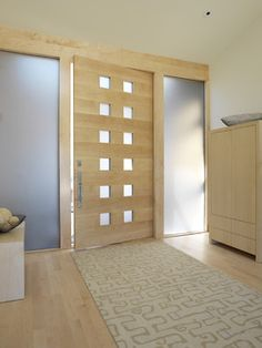 Modern Front Door Sale Design Ideas, Pictures, Remodel, and Decor - page 146 House Design, Modern Front Door, Contemporary Front Doors, Best Front Doors, Entryway Decor Small, Door Design Interior, Green Front Doors, White Exterior Houses, Exterior Doors