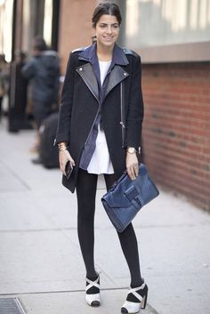 New York Fashion Week Street Style Fall 2012 - Leandra Medine. Love our manrepeller.