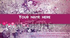 Digital Business Calling Card Soap Template No 1