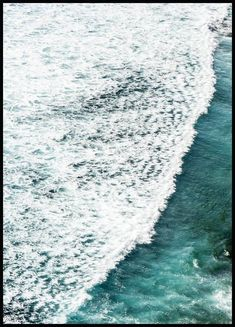 Ocean Wave Poster - Nature & Botanical - Posterstore.ca City Poster, Poster Art, Kunst Poster, Poster Prints, Sea Pictures, Scenery Pictures, Canvas Pictures, Morning Sun, Poster Photo