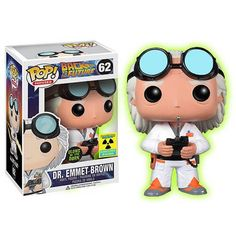 Buy Funko Doc Brown (GITD) Pop! Vinyl from Pop In A Box UK, the home of Funko Pop Vinyl subscriptions and more. Worldwide delivery available!